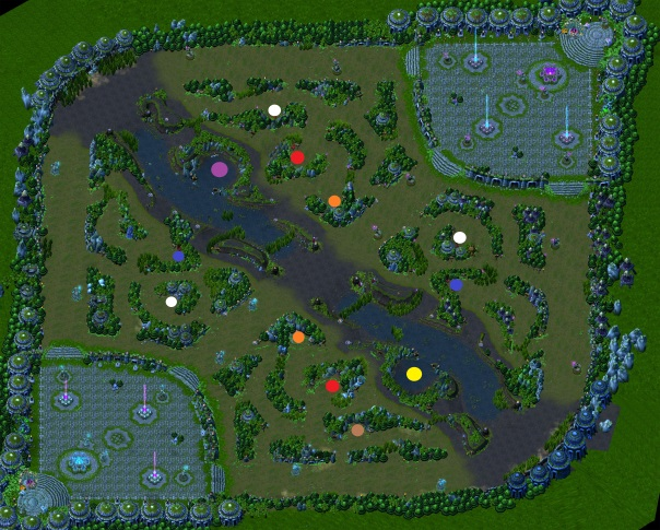 SummonersRift - Buffs and Camps